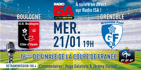 Coupe de france usbco gf38 en direct sur radio isa 100 4 gf38gf38 - Match de foot coupe de france en direct ...