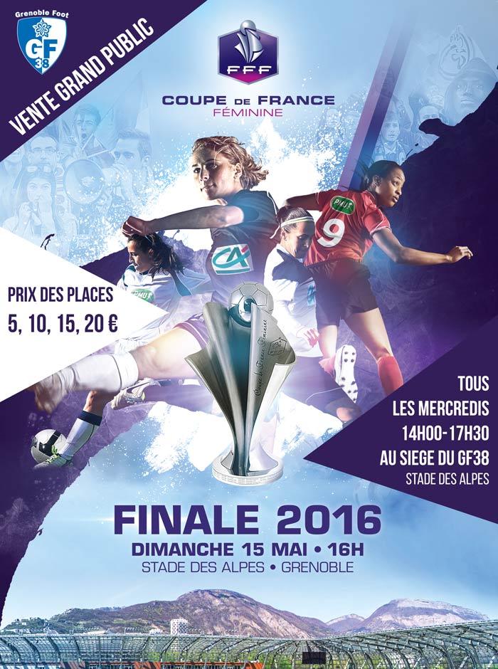 Coupe de france f minines vente de places au si ge du - Places finale coupe de france ...